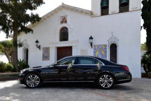 Mercedes Clase S - Coches de Boda en Benalmádena